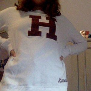 a harvard sweater